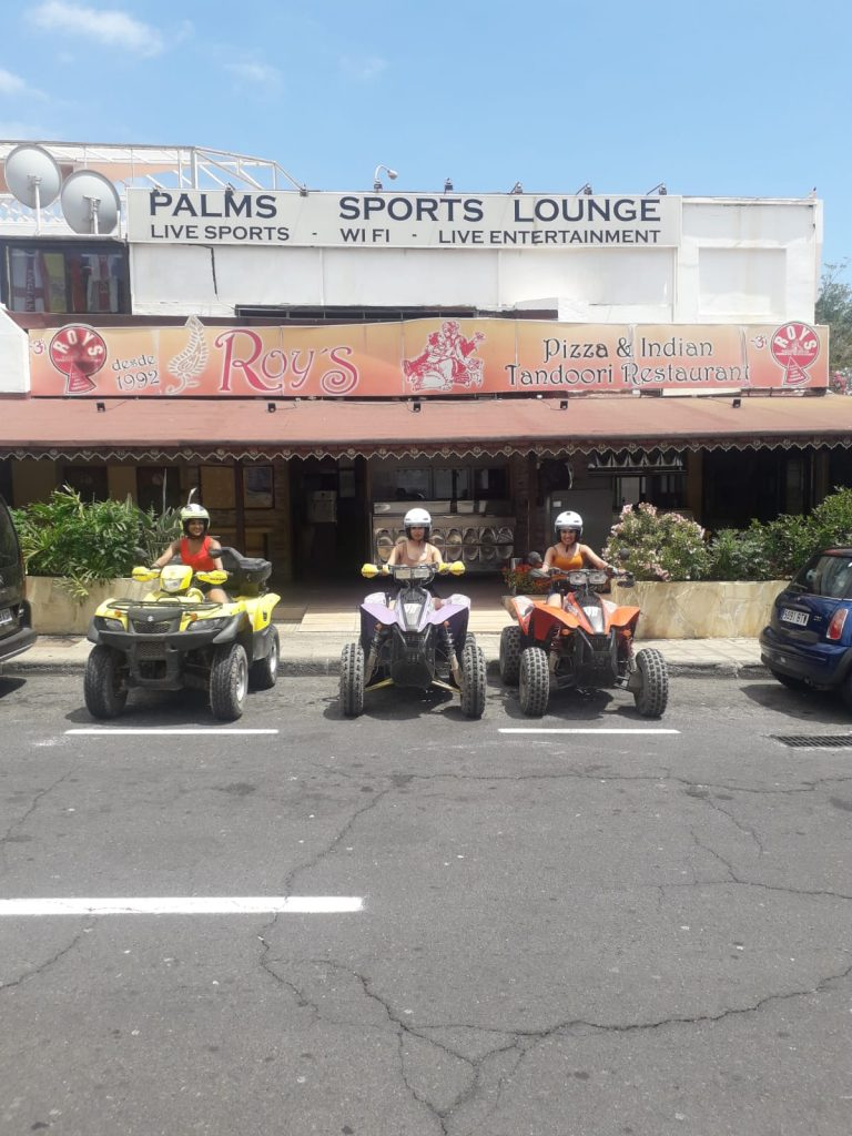 Thank you for joining us on the 8th of July 2019 on the Costa Adeje Quad Excursion! We hope you had a great time!
