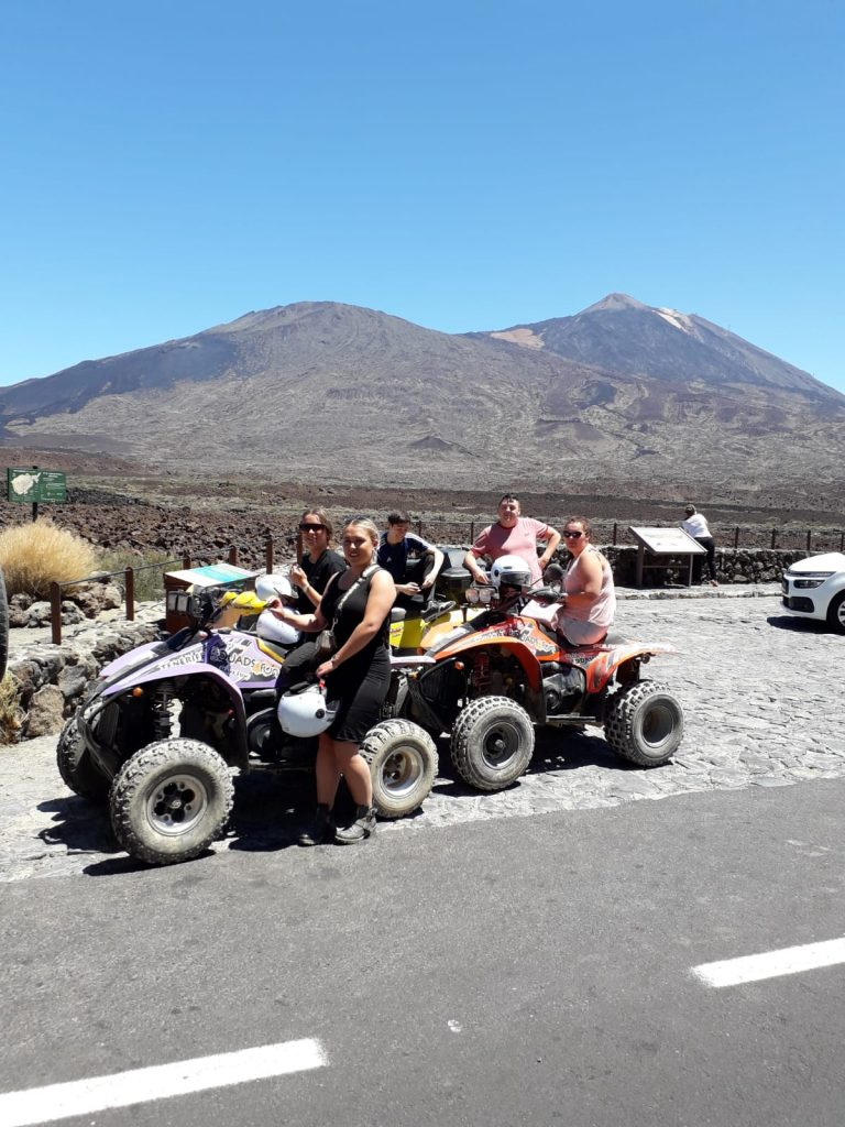 Thank you for joining us on the 12th of July 2019 on the Teide Quad Biking Excursion! We hope you had a great time!